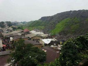 Conakry: une dizaine de personnes sont mortes dans l'éboulement d'une décharge d'ordure