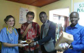 Humanitaire: Une ONG au chevet des malades du dispensaire de Saint Gabriel de Matoto.