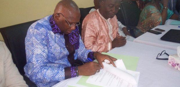 Conakry : Le nouveau Directeur  Général de l'Office National de Contrôle Sanitaire des Produits de Pêche et de l'Aquaculture (ONCSPPA) prend fonction