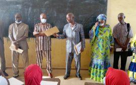 Conakry :Des premières épreuves du concours d'admission dans les Écoles professionnelles lancées par Michel Koivogui