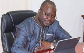 Guinée/Gestion du courrier : Les responsables de la GUILAB, de l'ANSSI et de l'ANIEN chez le Ministre Dr. Ibrahima Khalil KABA