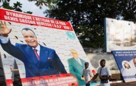 Denis Sassou Nguesso remporte l'élection présidentielle du Congo