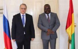Diplomatie : Vers la participation de la Guinée à la deuxième édition du forum Russie – Afrique