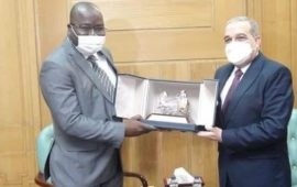 Coopération : le ministre des Guinéens de l'étranger reçu en audience par le Ministre égyptien de la Production Militaire au Caire