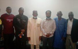 Partenariat :Le président du CNP-Guinée,El Hadj Mohamed Habib Hann, reçoit des délégations du Quatar et celle du «Groupe  Nigerian»