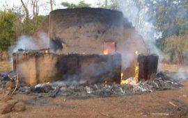 Mamou: Une femme meurt dans l'incendie de trois (3) cases