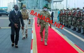 Mali: le président de la transition Assimi Goïta se rend à un sommet de la Cédéao à Accra