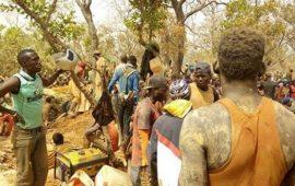 Siguiri : Au moins 15 morts dont 2 femmes dans l'éboulement d'une mine d'or à Gbingbédou du Tatakourou