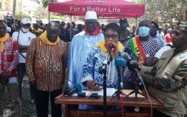 Boké:Le Musée régional  a été officiellement remis à la population par la ministre  Mme Diané Sona Konaté