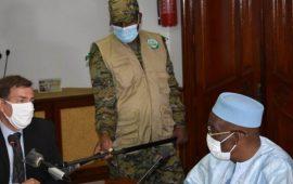 Guinée/Actualisation de la Réforme du Secteur de la Sécurité : le ministre de la défense échange avec le Représentant résident PNUD