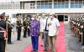 Érythrée : Le Président guinéen, Alpha Condé visite plusieurs projets agricoles et aquatiques