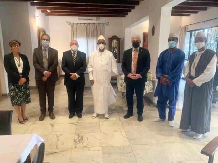 Crise politique en Guinée : Cellou Dalein reçoit les ambassadeurs de la CEDEAO et les partenaires de la Guinée