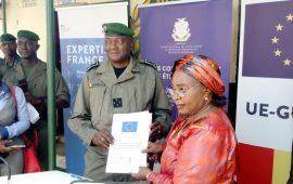 Guinée: L'Expertise France offre des équipements à la Brigade Spéciale de Protection des Personnes Vulnérables