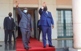 Embaló reçoit Tshisekedi à Bissau: « le fils de Lumumba est venu voir les enfants de NKrumah, de Sékou Touré et de Cabral