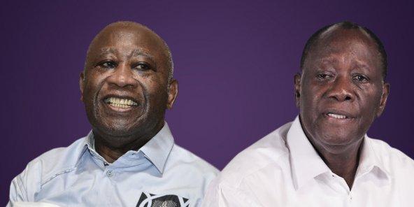 Côte d'Ivoire : Alassane Ouattara et Laurent Gbagbo vont se retrouver le 27 juillet prochain au palais présidentiel