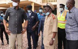 Guinée/COVID-19: Le Ministre Damantang à Boké pour veiller au respect des mesures barrières