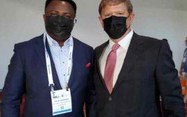 Minexpo 2021 à Las Vegas: le PDG de BFG Consulting rassure les partenaires miniers de la Guinée