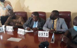 Guinée : 10 sur 13 centrales syndicales signent un mémo