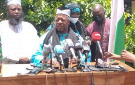 Guinée: El hadh Diaby exhorte les Guinéens à accompagner le CNRD pour une transition apaisée