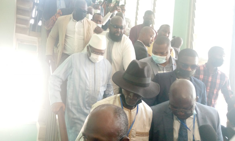 Sydia Touré, après leur rencontre avec le chef de la junte le Colonel Mamady Doumbouya: ‹‹Cette transition doit permettre réellement de bâtir le fondement d'un État nouveau››