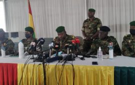 Guinée/ Le CNRD répond la CEDEAO : « nous on a pas besoin de voyager et qu'il n'y avait rien à geler sur nos comptes »