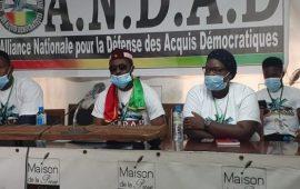 Guinée: l'ANDAD demande au CNRD d'écarter Cellou Dalein Diallo,Mamadou Sylla et Sidya Touré aux élections présidentielles à venir